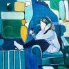 Blandteknik och akryl – konstutställning av Mia Österman